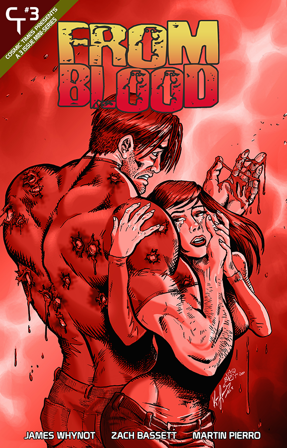 From Blood: Chapter Three - Blood Foil Cover
