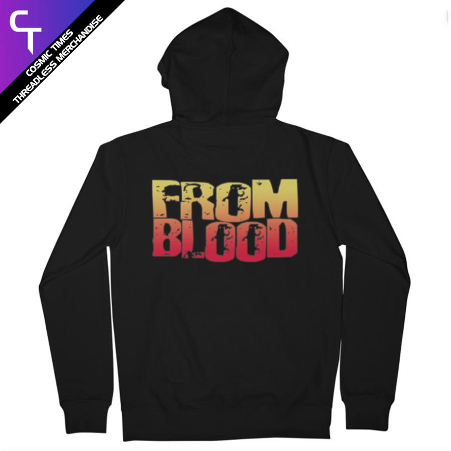 From Blood Logo Hoodie