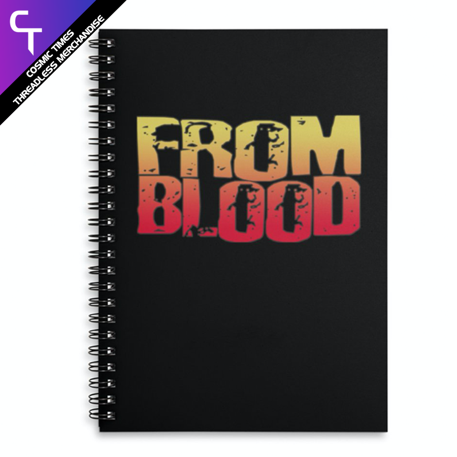 From Blood Logo Notebook