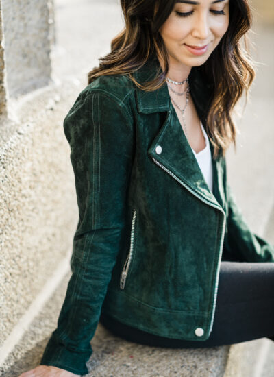Fall Suede Moto Jackets