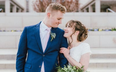 Behind the Scenes at Jessica + Spencer's Wedding