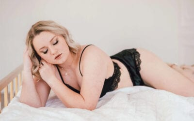 Bright, Airy Boudoir Session