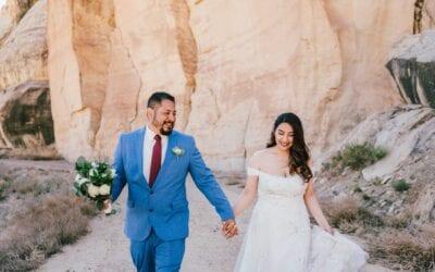 Destination Wedding in Escalante, Utah