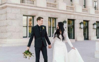 Bridals at the Utah Capitol Building
