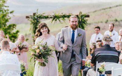 Brooke + DJ | A wildflower wedding