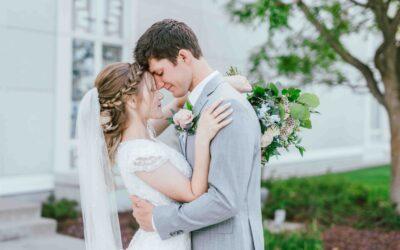 Emma + Sam | Bountiful Temple Wedding