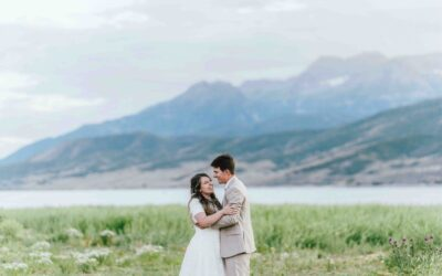 Bridal Photography at Deer Creek Reservoir
