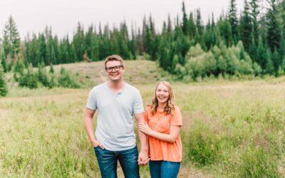 Julia + Brett | A Big Cottonwood Canyon Engagement Session