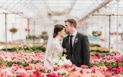 Madi + Carter | A Highland Gardens Wedding