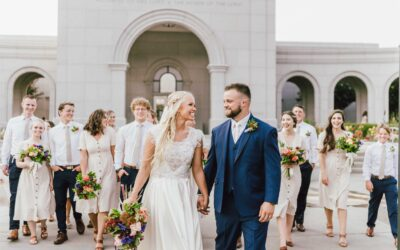 Cami + Austin | Sacramento California LDS Temple Wedding