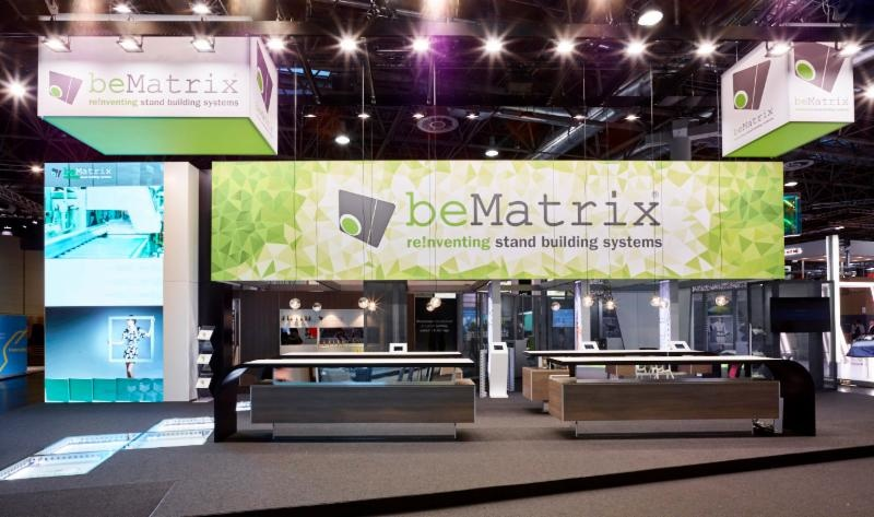 beMatrix LEDskin Innovative Modular LED Display