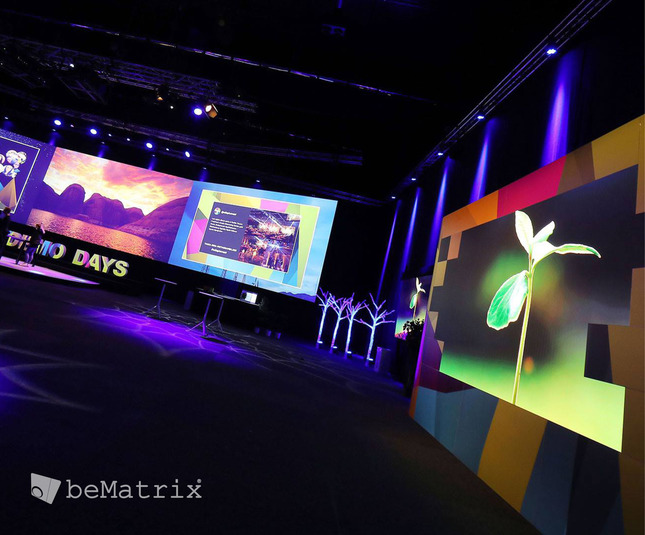 LEDskin: Reinventing Stand Building Systems