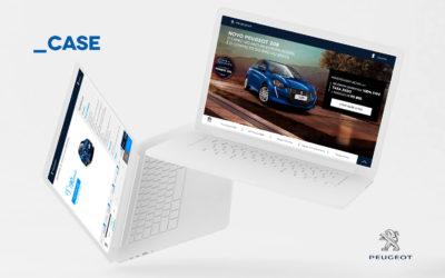 Novo case Discover: Experiência digital com Peugeot 208
