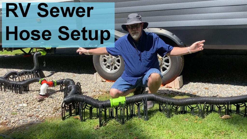 Sewer Hose Setup YouTube Video Thumbnail