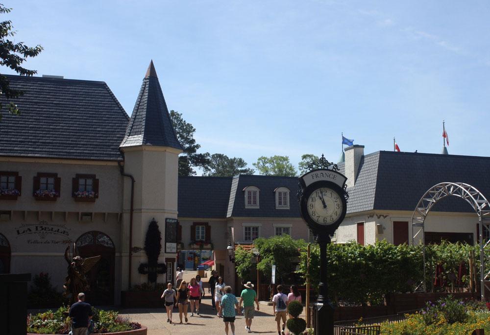 Aquitaine France at Busch Gardens Williamsburg