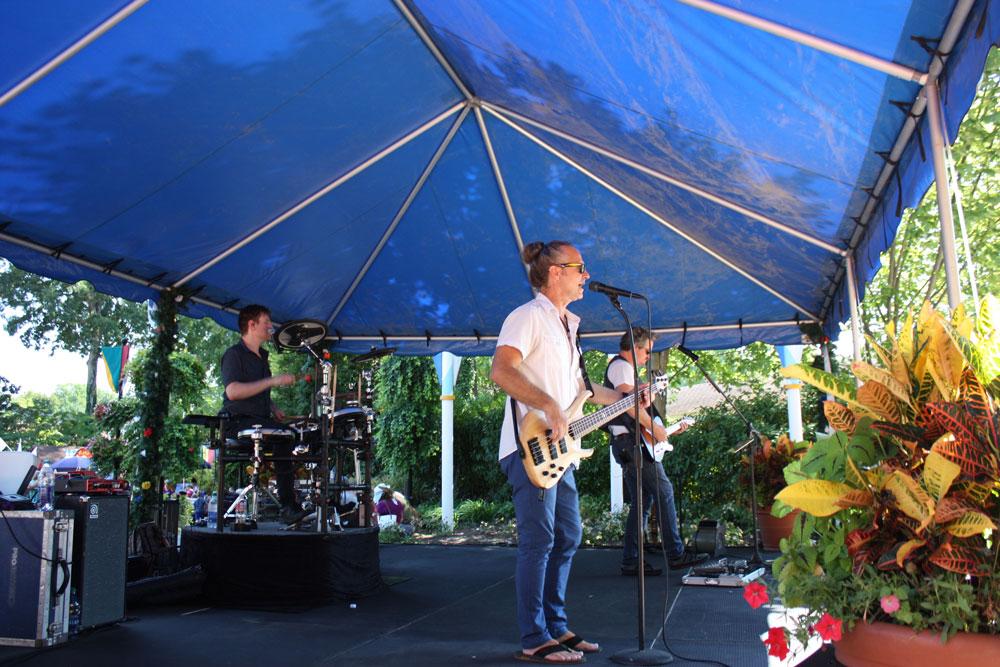 Vinyl Headlights Performing at Bier Fest Busch Gardens Williamsburg