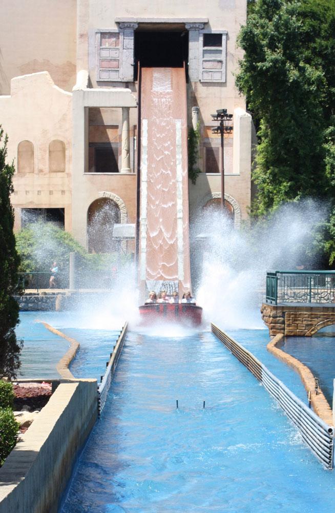 Escape From Pompeii Ride Busch Gardens Williamsburg