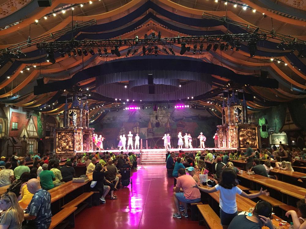 German Show at Das Festhaus Busch Gardens Williamsburg