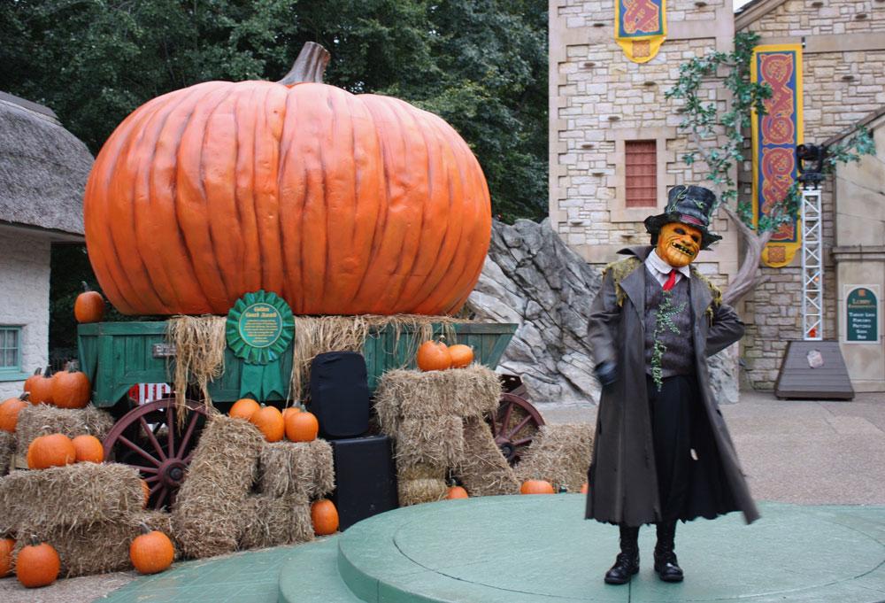 Busch Gardens Williamsburg HowlOScream Jack Halloween