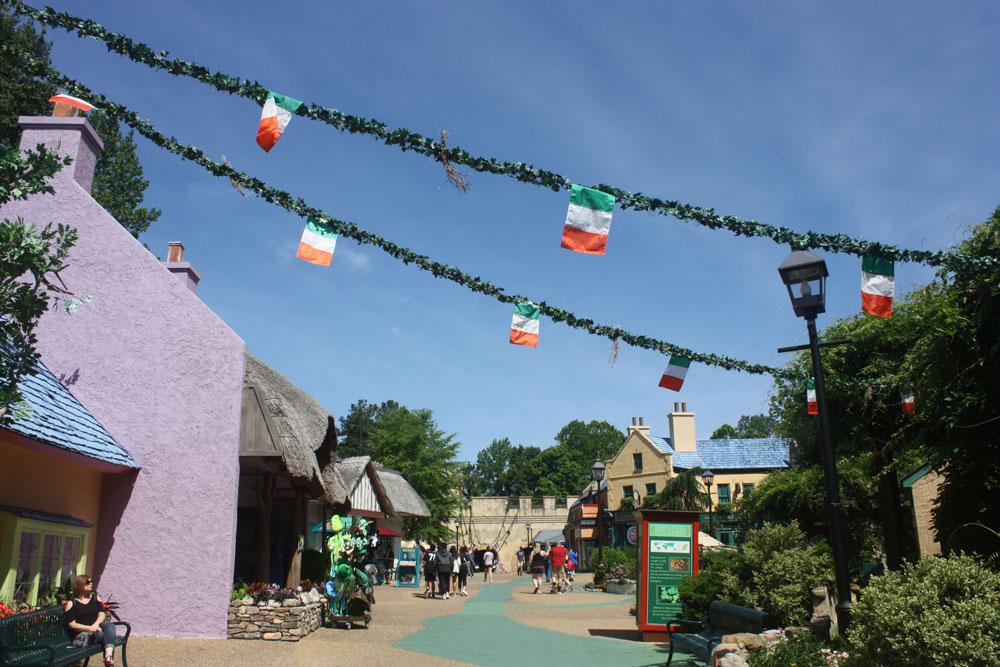 Killarney Ireland Area Busch Gardens Williamsburg