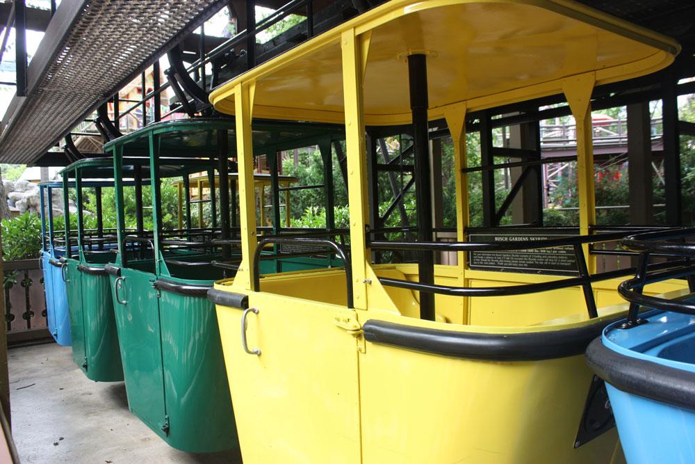 Sky Ride Busch Gardens Williamsburg