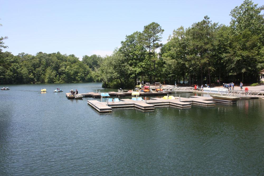Rental Boat Dock At Waller Mill Park Pond