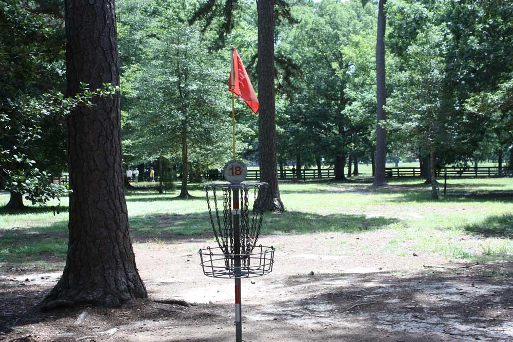 Disc Golf Course at Newport News Park