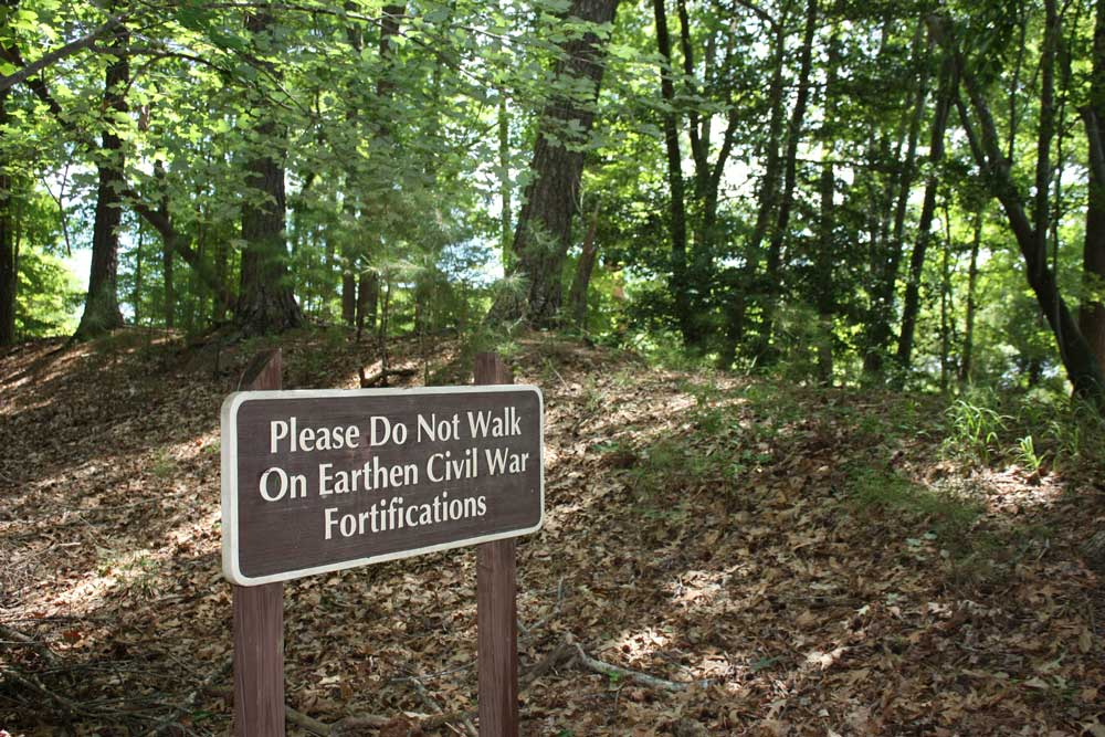 Newport News Park Civil War Fortifications