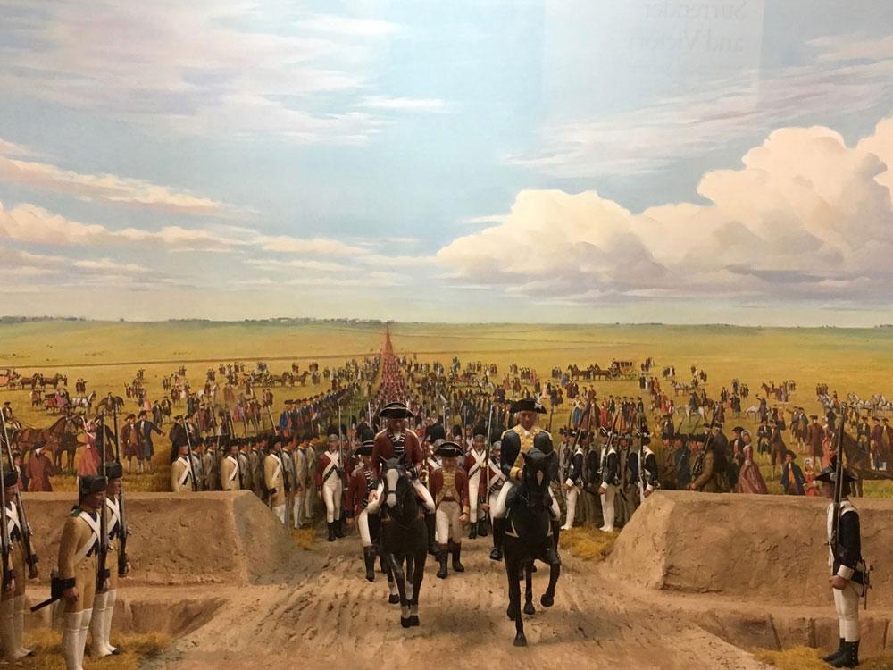 Yorktown Battlefield Diorama