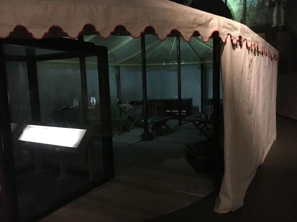Yorktown Battlefield George Washington Tent