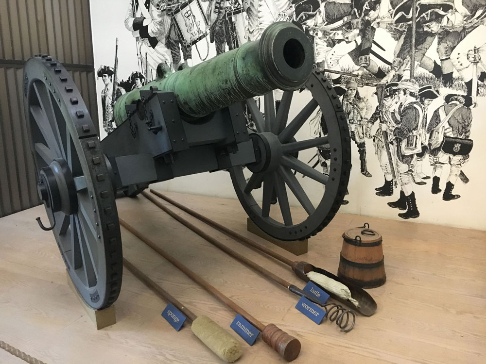 Yorktown Battlefield Lafayette Canon