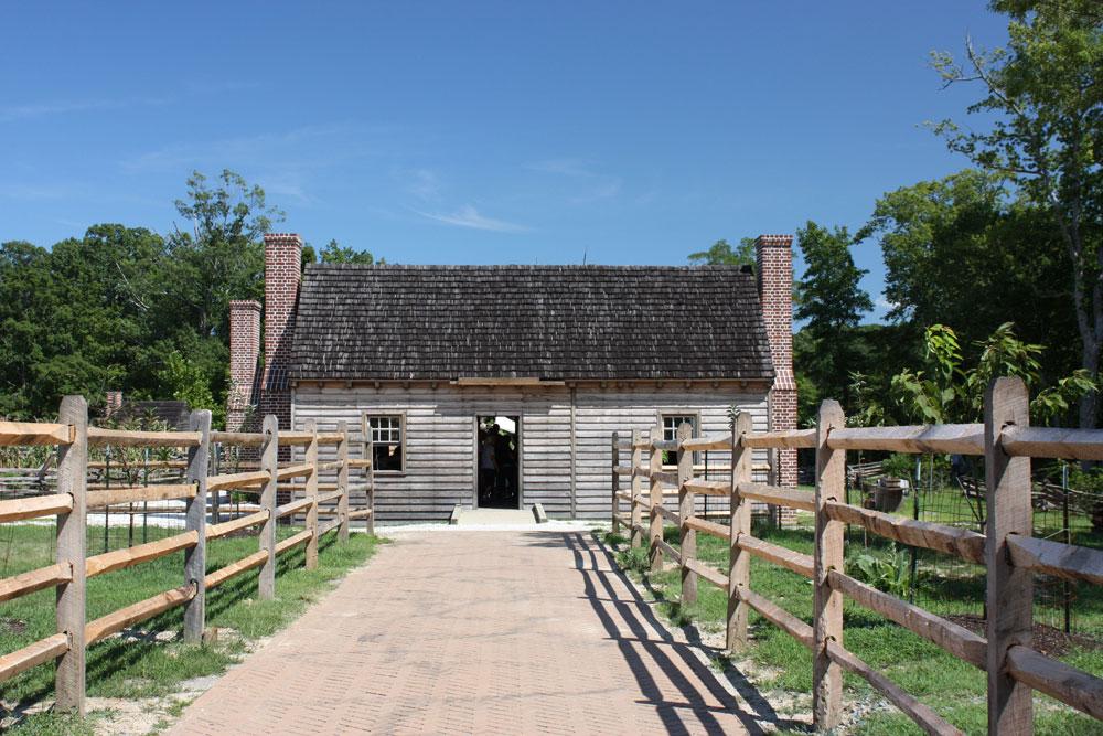 American Revolution Museum At Yorktown Farm House