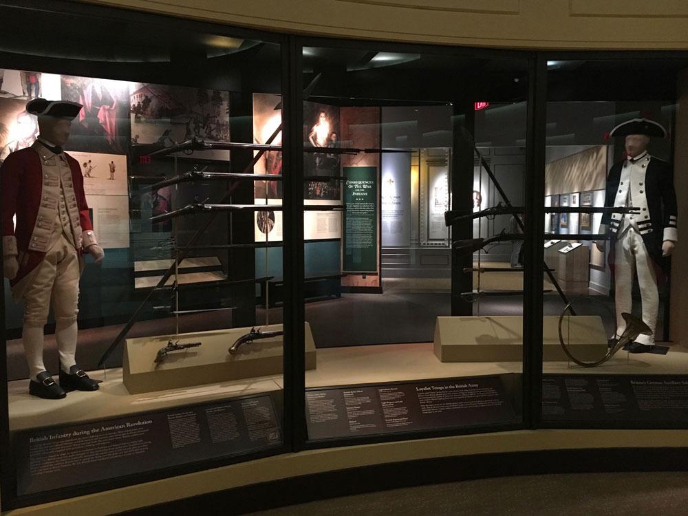 American Revolution Museum At Yorktown Soldier Display