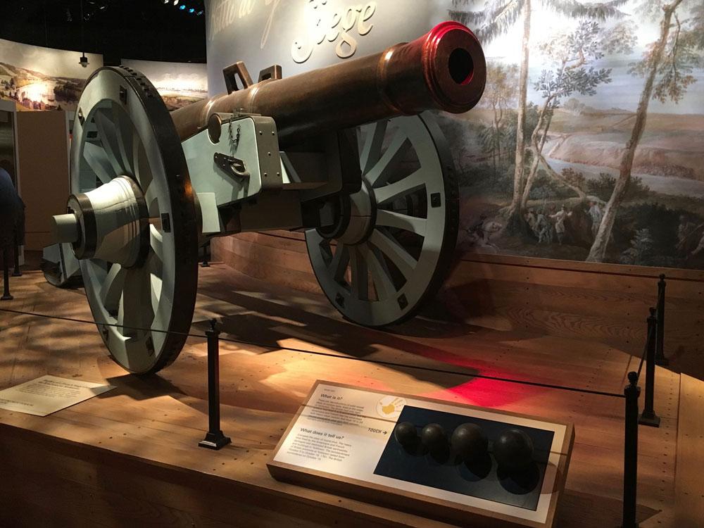 American Revolution Museum At Yorktown Battle At Yorktown Canon