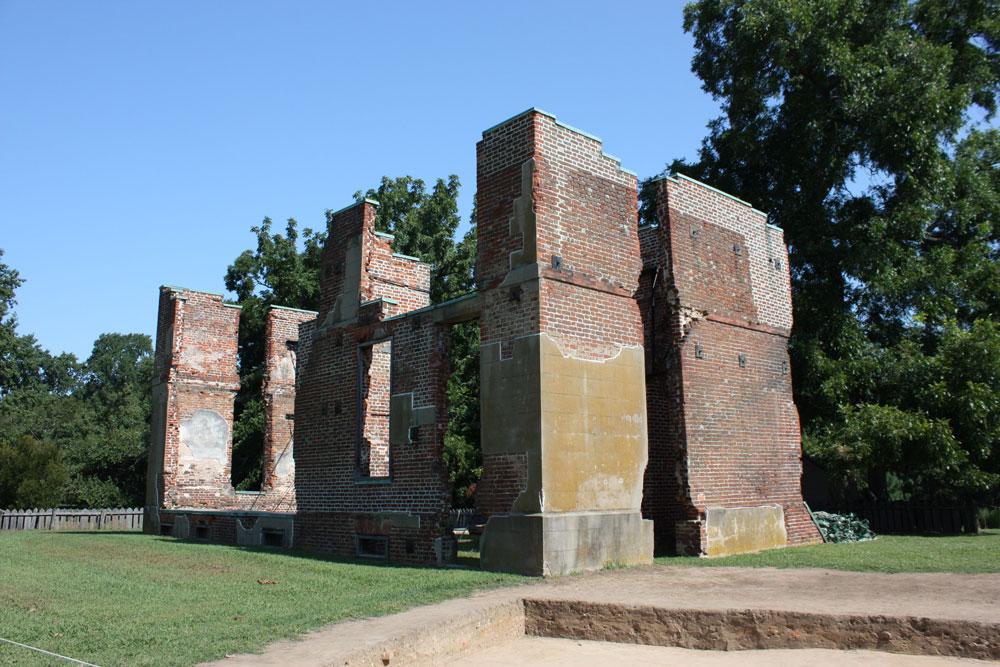 Historic Jamestowne Jamestown VA Ambler Mansion