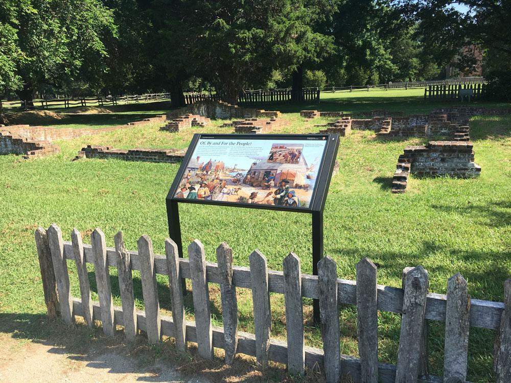 Historic Jamestowne Jamestown VA Statehouse