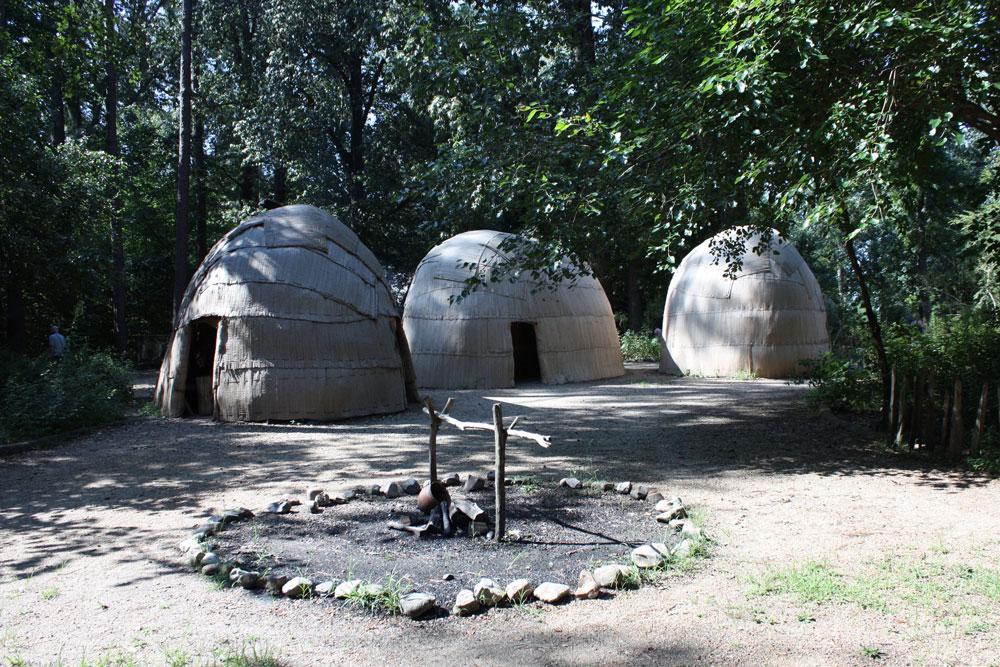 Jamestown Settlement Museum Jamestown VA Powhatan Village
