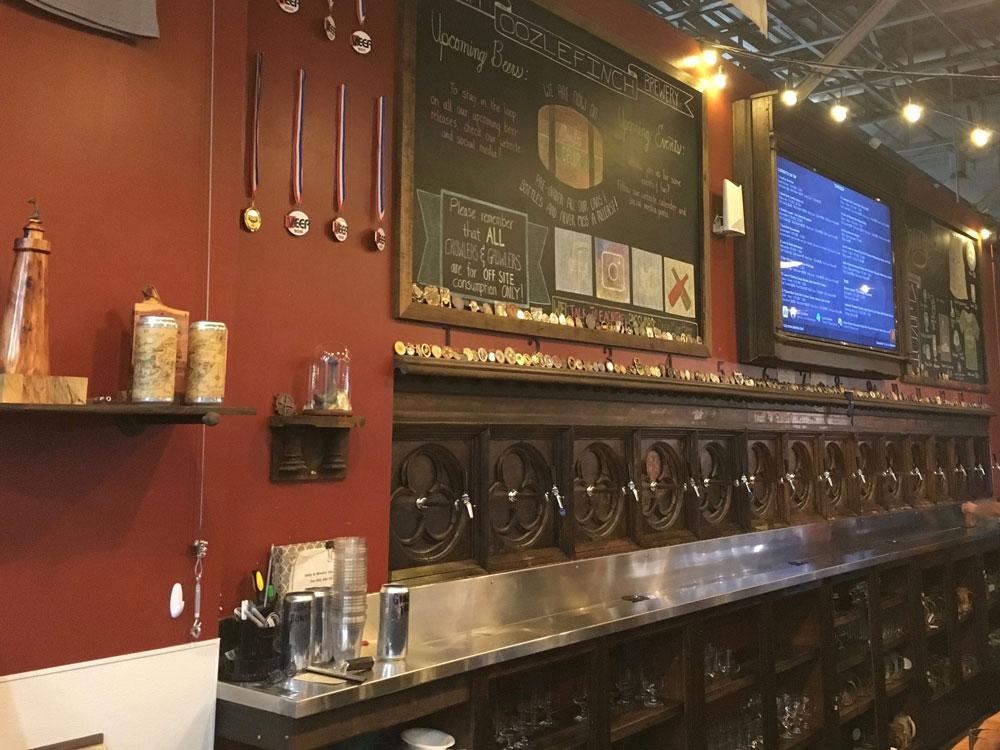 Virginia Peninsula Breweries Oozlefinch Taproom Hampton Craft Brewery