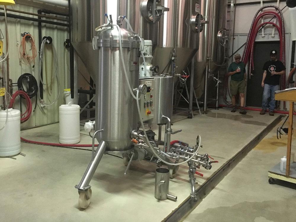 Virginia Peninsula Breweries St George Brewing Co Filtration Hampton Craft Brewery