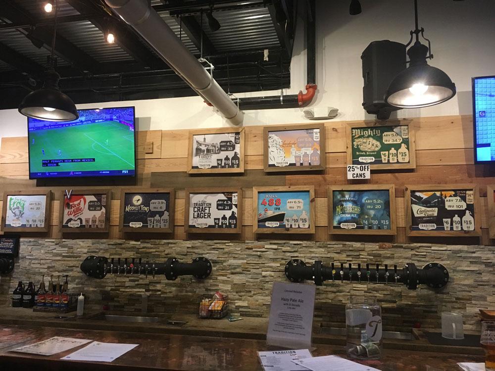 Virginia Peninsula Breweries Tradition Brewing Menu Newport News Craft Brewery