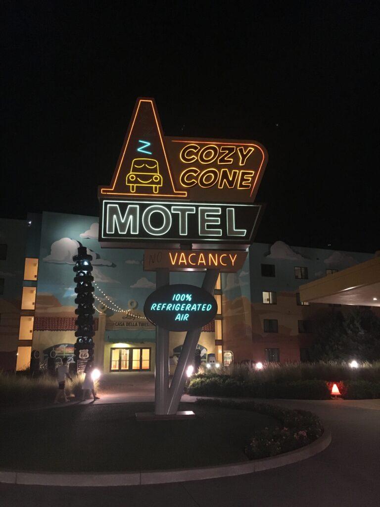 Disneys Art of Animation Cars Cozy Cone Motel