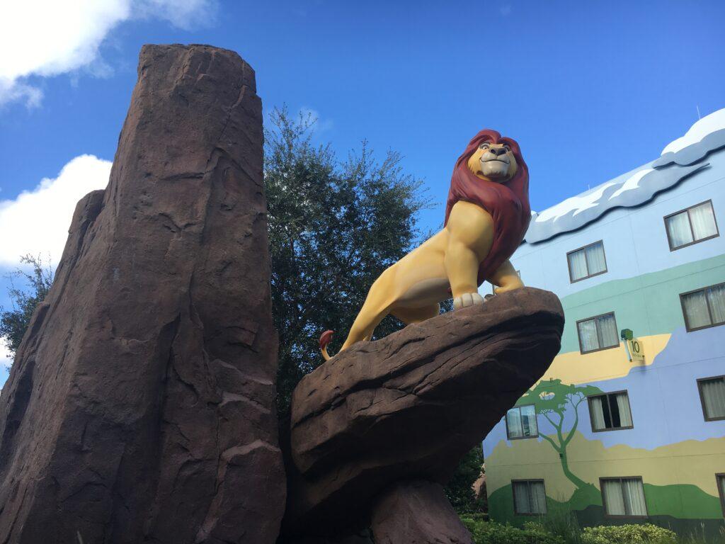Disneys Art of Animation Resort Lion King Building