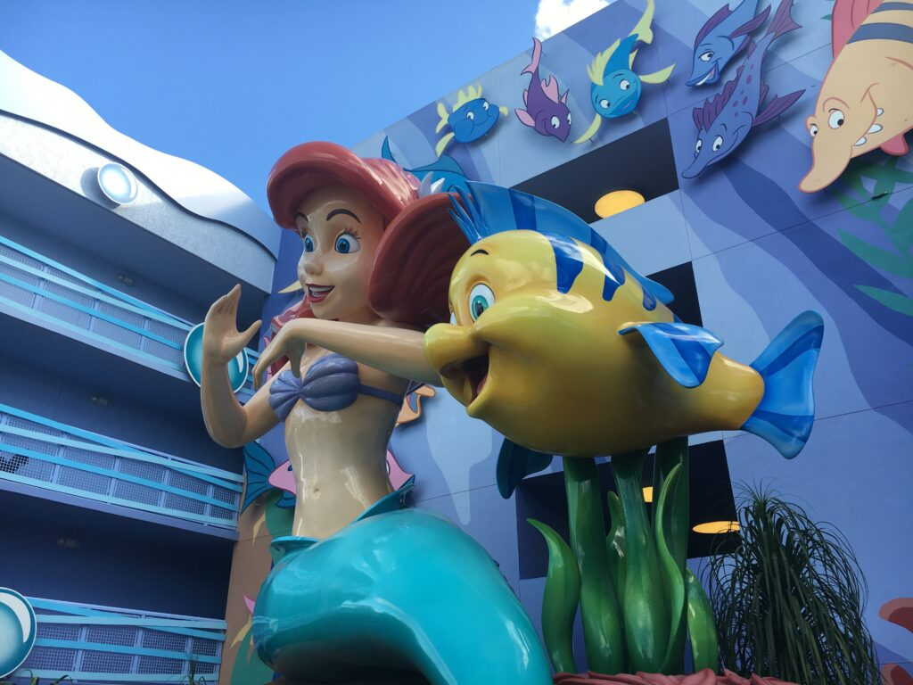 Disneys Art of Animation Resort Ariel Little Mermaid Building