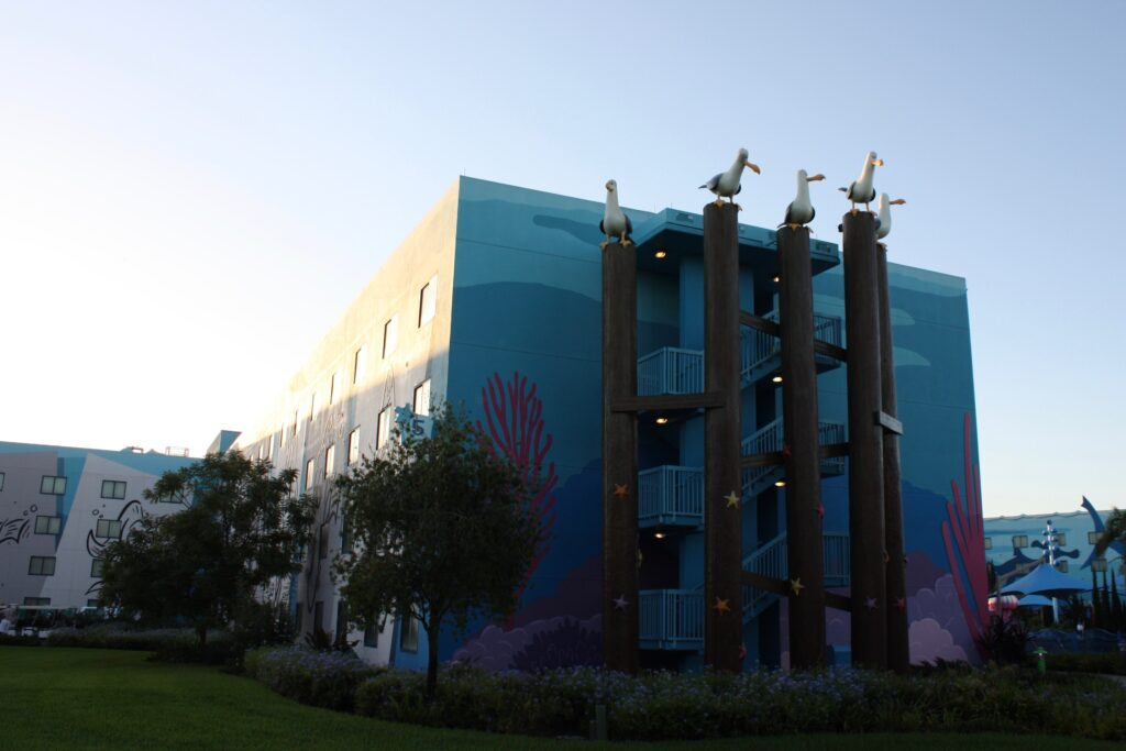 Disneys Art of Animation Finding Nemo Building Stairs