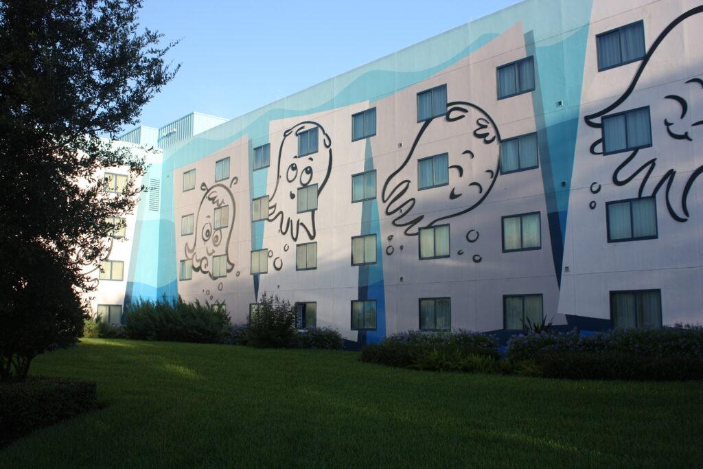 Disneys Art of Animation Resort Finding Nemo Building
