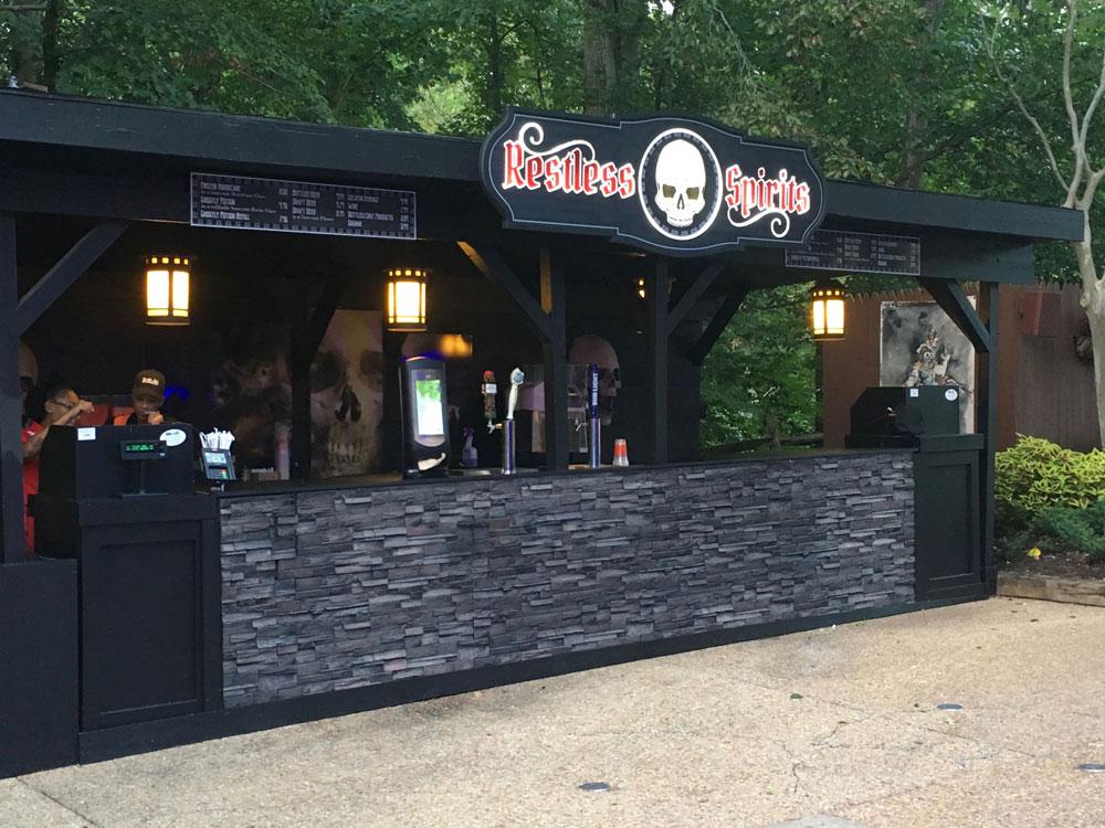 Busch Gardens Williamsburg Howl-O-Ween Beverage Stand Halloween