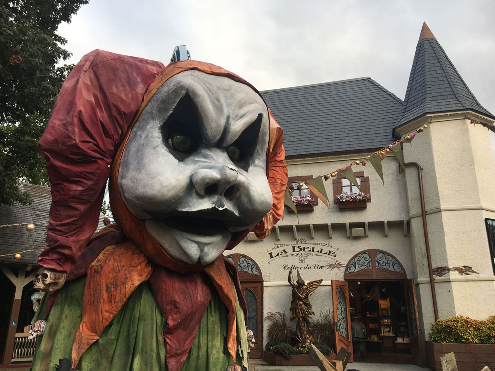 Busch Gardens Williamsburg Howl-O-Scream France Halloween