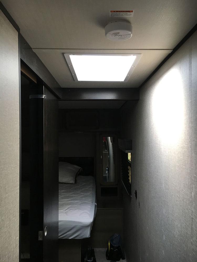 Bright Skylight in Hallway Grand Design Transcend 28MKS