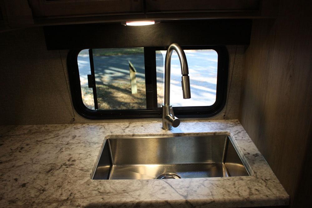Stainless Steel Sink in Kitchen Grand Design Transcend 28MKS