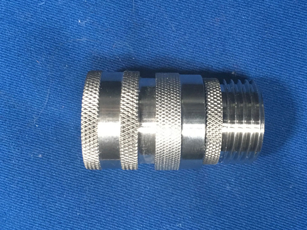 Duda Diesel Stainless Steel Hose Quick Connect